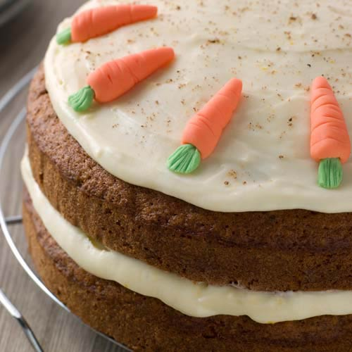 C is for... answer: CARROT CAKE