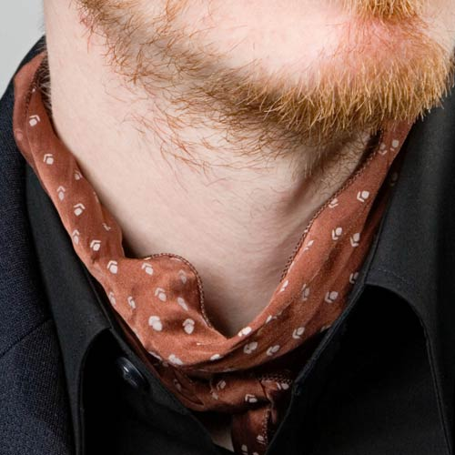 C is for... answer: CRAVAT