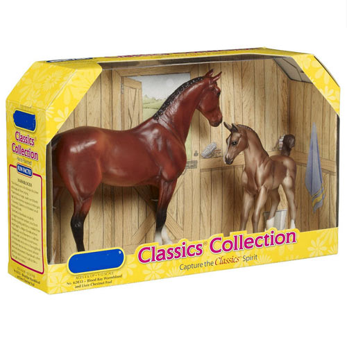 Classic Toys answer: BREYER HORSES