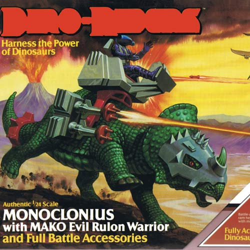Classic Toys answer: DINO-RIDERS