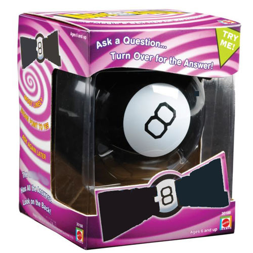 Classic Toys answer: MAGIC 8 BALL