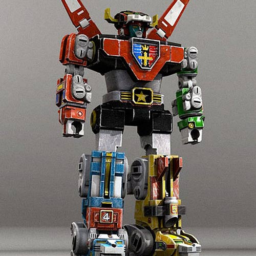 Classic Toys answer: VOLTRON