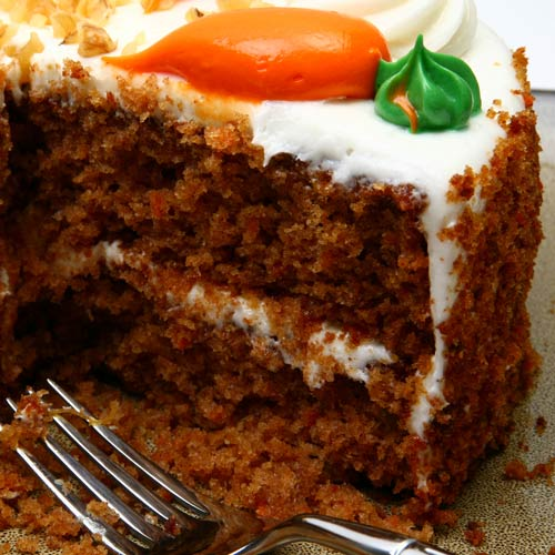 Desserts answer: CARROT CAKE
