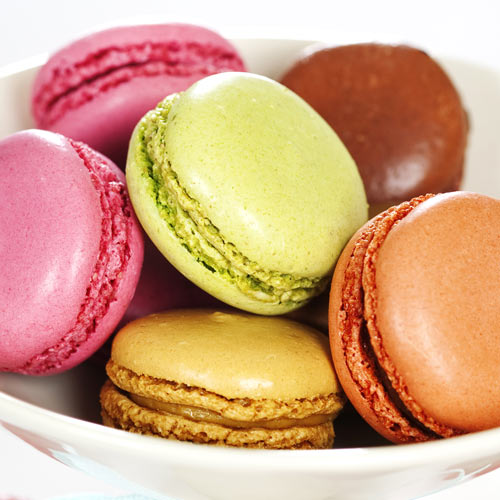 Desserts answer: MACARONS