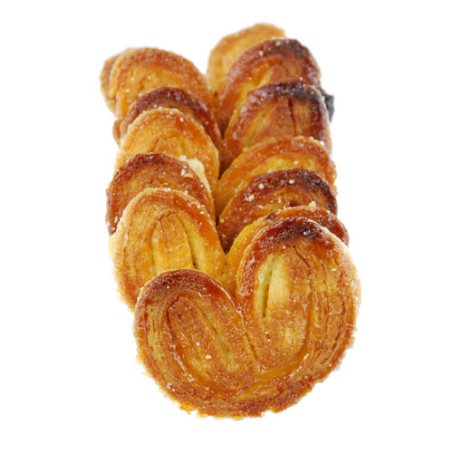 Desserts answer: PALMIERS