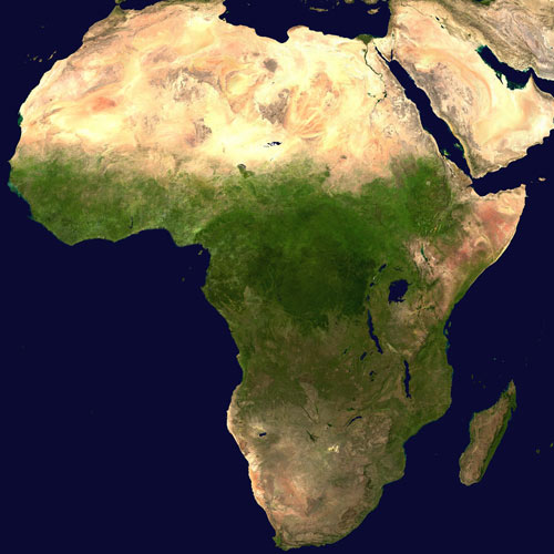 Earth from Above answer: AFRICA