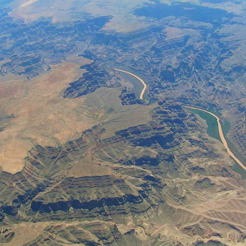Earth from Above answer: GRAND CANYON