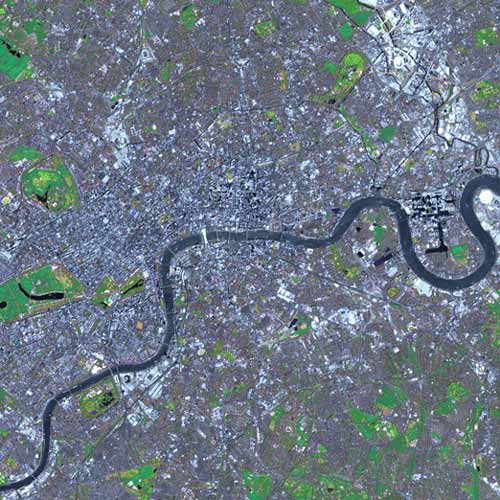 Earth from Above answer: LONDON