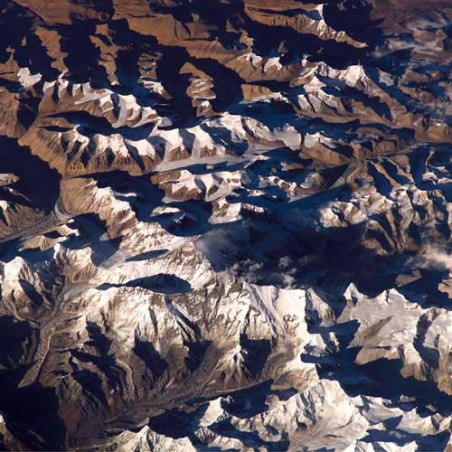 Earth from Above answer: MOUNT EVEREST