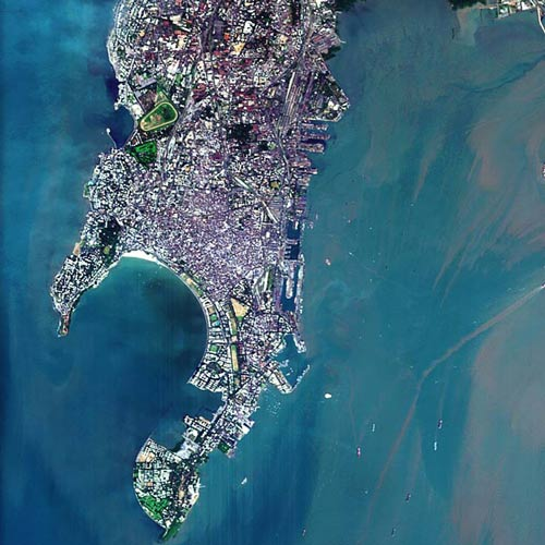 Earth from Above answer: MUMBAI