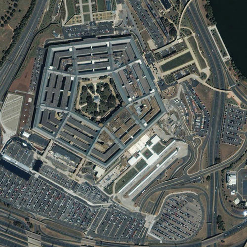 Earth from Above answer: PENTAGON