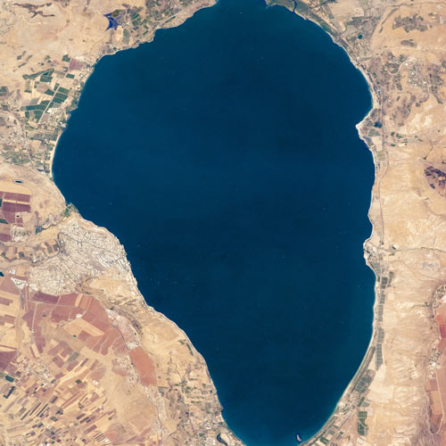 Earth from Above answer: SEA OF GALILEE