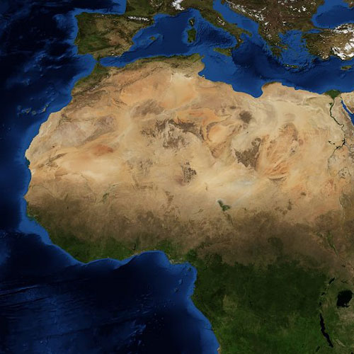 Earth from Above answer: SAHARA