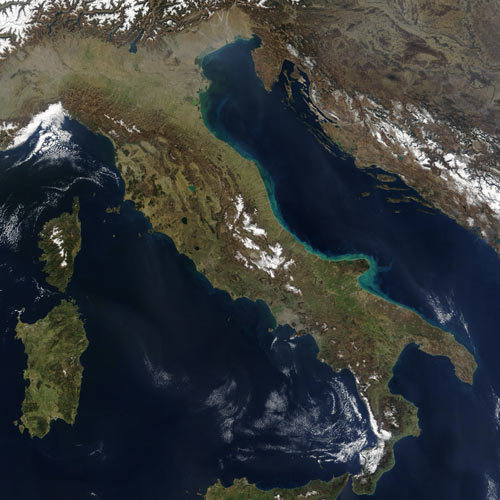 Earth from Above answer: ITALY