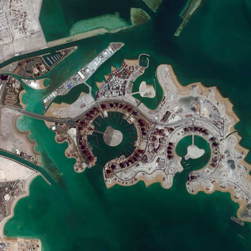 Earth from Above answer: QATAR