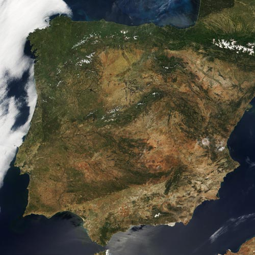 Earth from Above answer: SPAIN