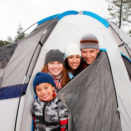 Elever les enfants answer: CAMPING