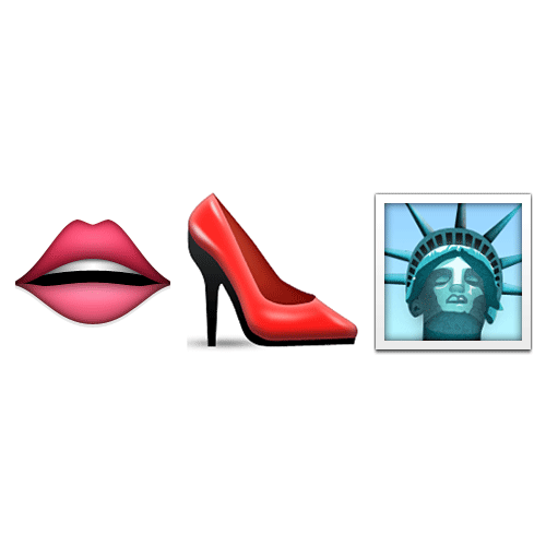 Emoji 2 answer: SEX IN THE CITY