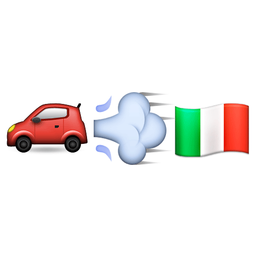 Emoji Quiz 3 answer: FERRARI