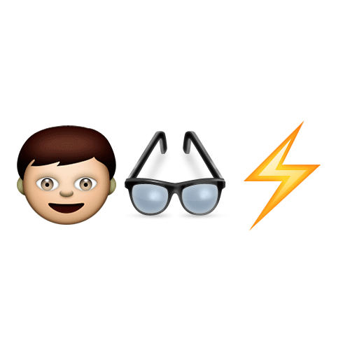 Emoji Quiz 3 answer: HARRY POTTER