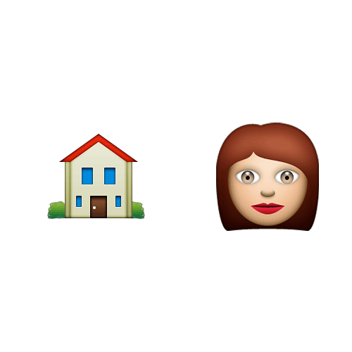 Emoji Quiz 3 answer: HOUSEWIFE