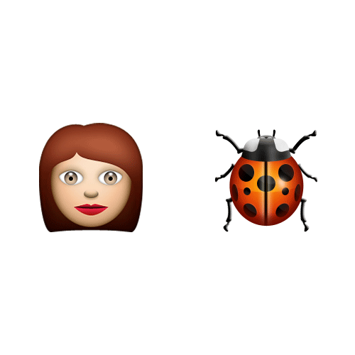 Emoji Quiz 3 answer: LADYBIRD