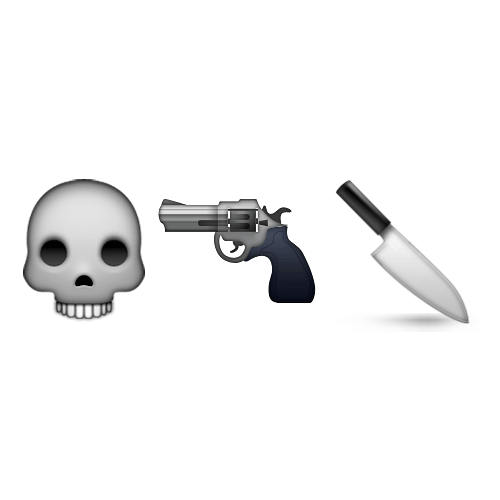 Emoji Quiz 3 answer: LETHAL WEAPON