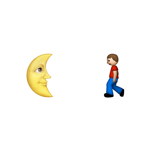 Emoji Quiz 3 answer: MOONWALK