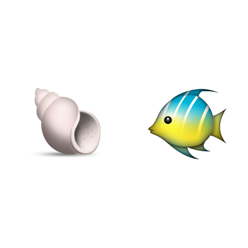Emoji Quiz 3 answer: SHELLFISH