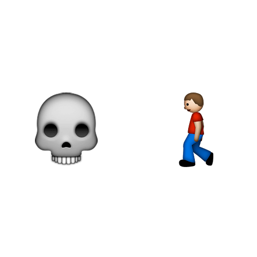 Emoji Quiz 3 answer: ZOMBIE