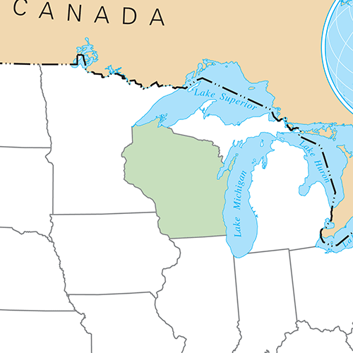 Etats Américains answer: WISCONSIN