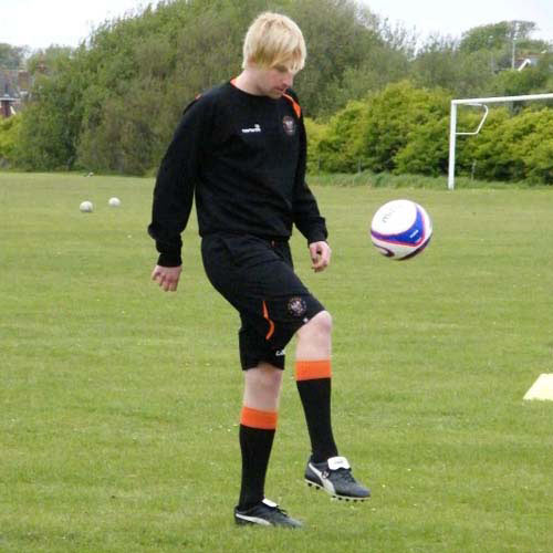 Football Focus answer: KEEPY UPPY