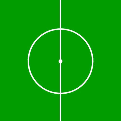Football Focus answer: CENTRE CIRCLE