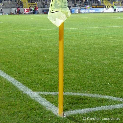 Football Focus answer: CORNER FLAG