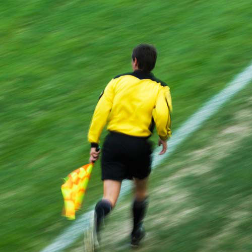 Football Focus answer: LINESMAN