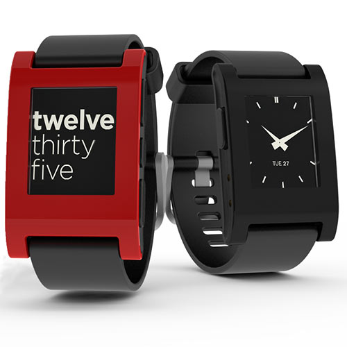Gadgets answer: PEBBLE
