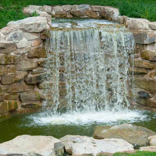 Gardening answer: WATER FEATURE