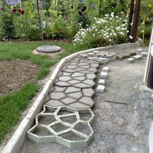 Gardening answer: PAVING SLABS