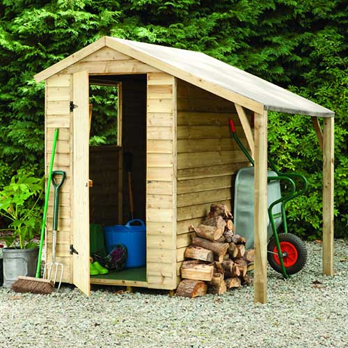 Gardening answer: SHED