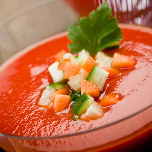 G is for... answer: GAZPACHO