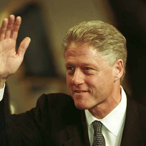 Histoire answer: BILL CLINTON