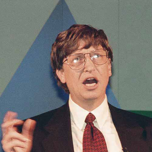 Histoire answer: BILL GATES