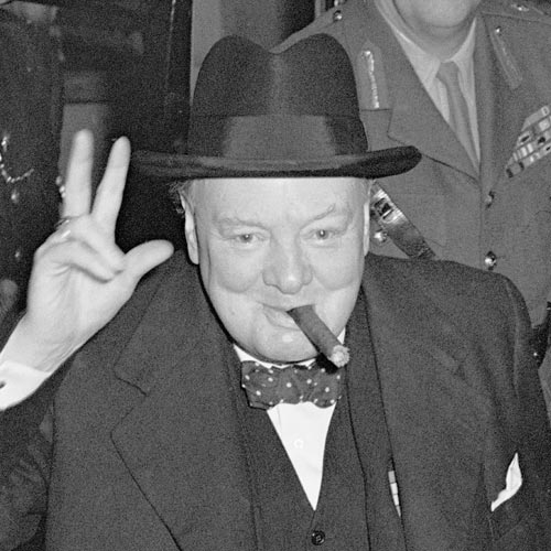 Histoire answer: CHURCHILL