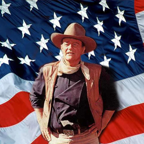 I aimer USA answer: JOHN WAYNE