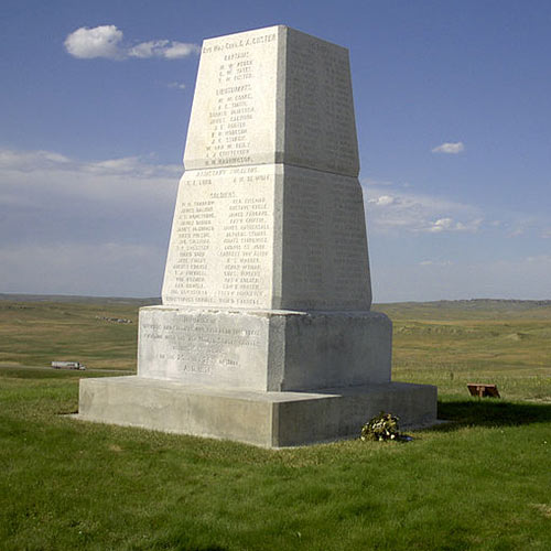 I aimer USA answer: LITTLE BIGHORN