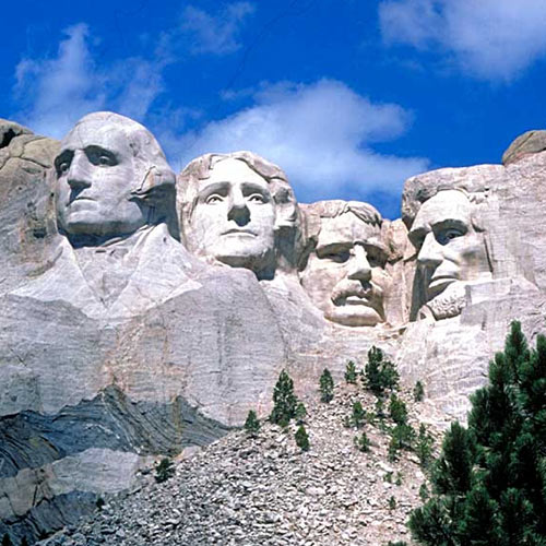 I aimer USA answer: MONT RUSHMORE
