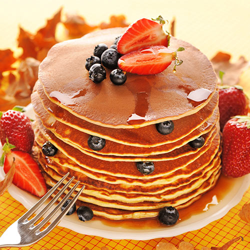 I aimer USA answer: PANCAKES