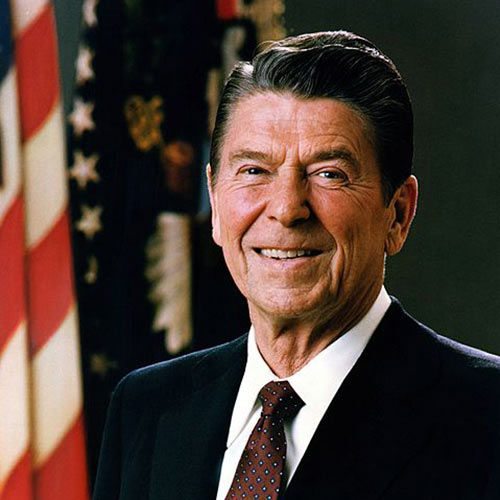 I aimer USA answer: RONALD REAGAN