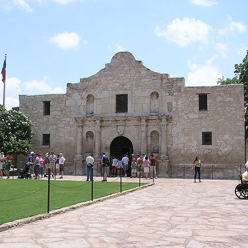 I aimer USA answer: FORT ALAMO
