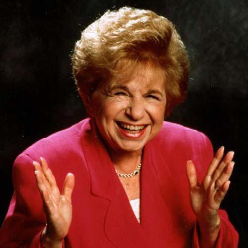 I ♥ 1980s answer: DR RUTH